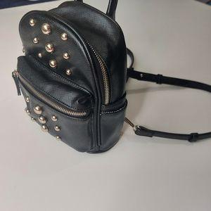 Steve Madden Faux Leather Mini Bookbag Style Purse